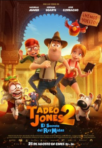 مشاهدة فيلم Tadeo Jones 2 El secreto del Rey Midas 2017 مترجم