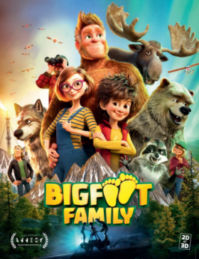 فيلم Bigfoot Family 2020 مترجم