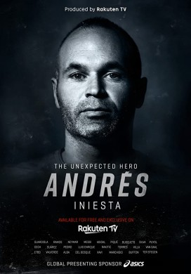 فيلم Andres Iniesta The Unexpected Hero 2020 مترجم