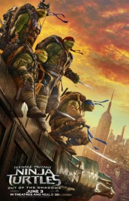 فيلم Teenage Mutant Ninja Turtles Out of the Shadows كامل مترجم