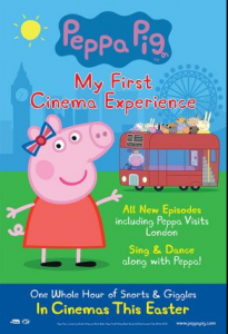 مشاهدة فيلم Peppa Pig My First Cinema Experience 2017 مترجم