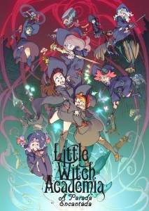مشاهدة فيلم Little Witch Academia The Enchanted Parade 2015 مترجم