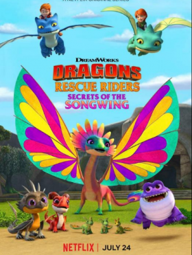 فيلم Dragons Rescue Riders Secrets of the Songwing 2020 مترجم