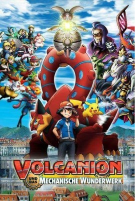 فيلم Pokemon the Movie Volcanion and the Mechanical كامل